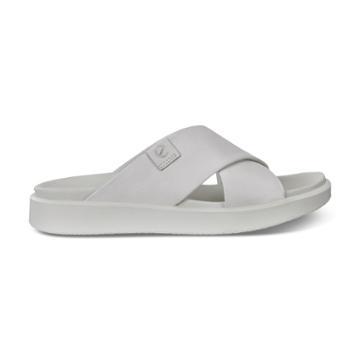 Ecco Flowt Lx W Slide Sandals Size 8-8.5 White