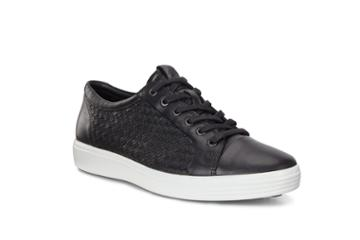 Ecco Soft 7 M Sneaker Size 8-8.5 Black