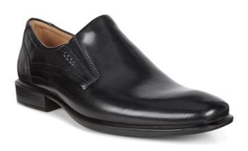 Ecco Men's Cairo Plain Toe Slip On Shoes Size 42