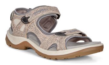 Ecco Womens Yucatan Sandal Size 4-4.5 Nude