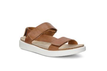 Ecco Corksphere Sandal M Flat Size 5-5.5 Cashmere