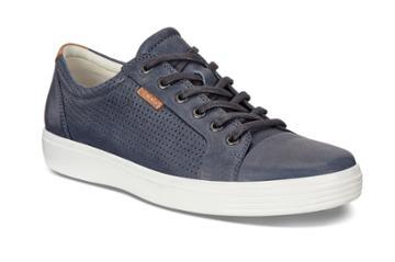 Ecco Men's Soft 7 Perf Tie Shoes Size 7/7.5