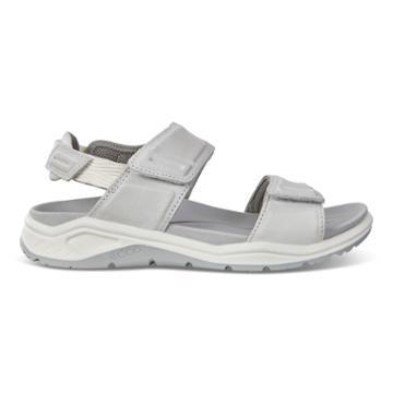 Ecco X-trinsic. Flat Sandal Size 8-8.5 White