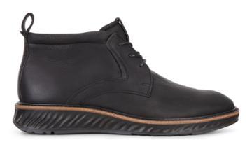 Ecco St.1 Hybrid Boots Size 5-5.5 Black