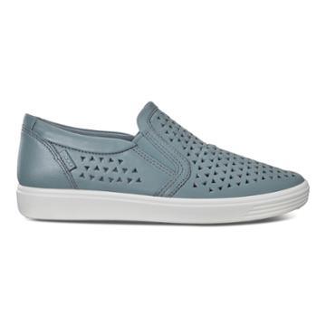 Ecco Soft 7 W Slip-on Sneakers Size 4-4.5 Trooper