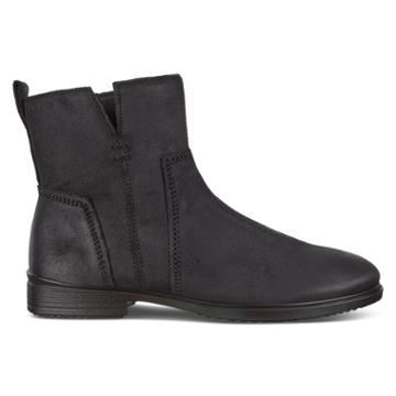 Ecco Touch 15 Boots Size 4-4.5 Black