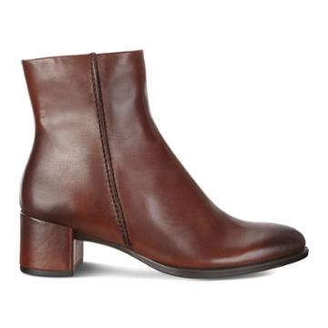 Ecco Shape 35 Block Ankle Boot Size 5-5.5 Bison