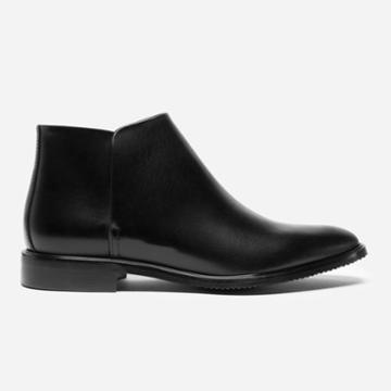 Everlane The Modern Ankle Boot - Black