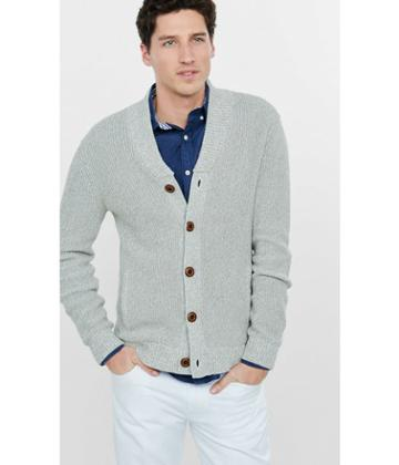 Express Men's Sweaters & Cardigans Shawl Neck Cardigan