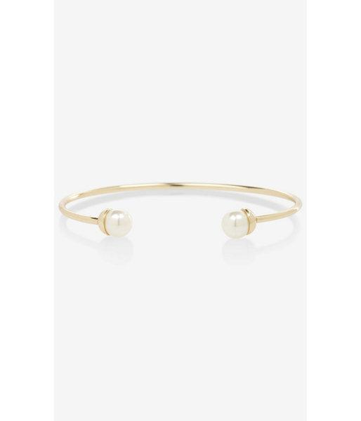 Express Open Pearl Bangle