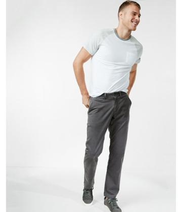 Express Classic Fit Garment Dyed Chino Pant