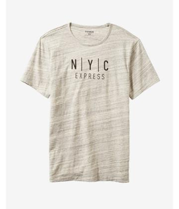 Express Mens Marble Nyc Express Graphic Tee