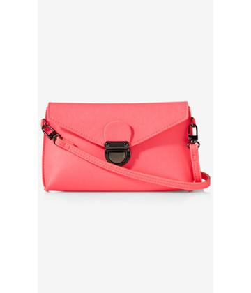 Express Women's Bags Neon Flap Top Cross Body Bag