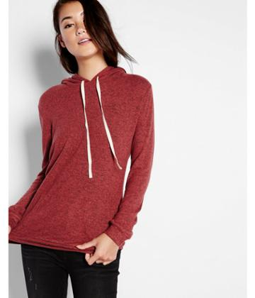 Express Womens Express One Eleven Brushed Hoodie