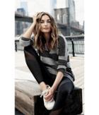 Express Women's Sweaters & Cardigans Marl Stripe London Tunic