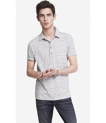 Express Men's Polos Space Dyed