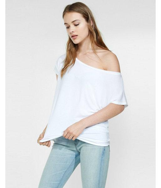 Express Womens Express One Eleven Off The Shoulder