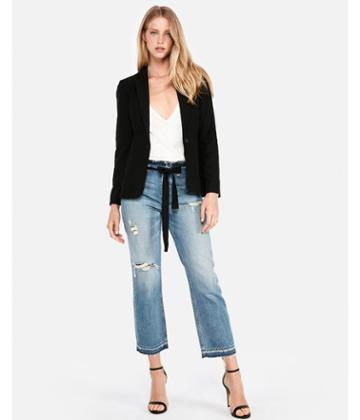 Express Womens One-button Blazer