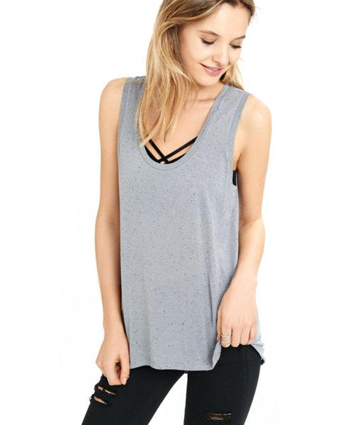 Express Women's Tanks Nep Knit Express One Eleven Scoop Neck
