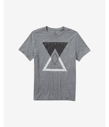 Express Men's Tees Express Triangles Graphic Tee