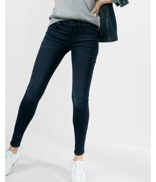 Express Mid Rise Supersoft Stretch+ Ankle Jean
