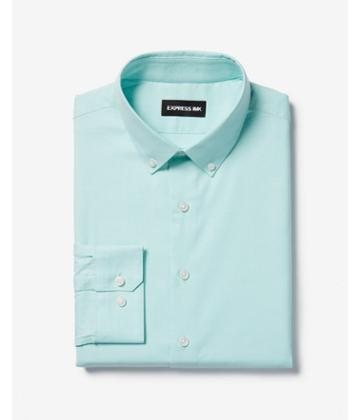 Express Mens Slim Easy Care Button-down