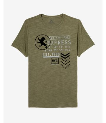 Express Mens 5th Avenue Express Graphic Tee