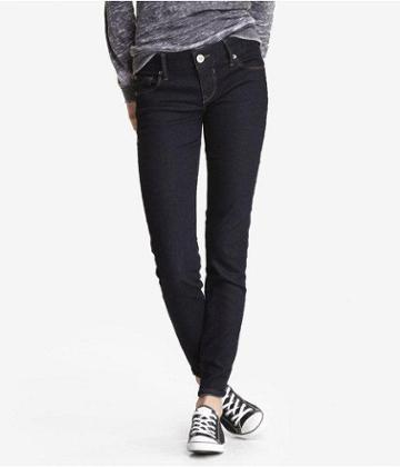 Express Womens Stella Ankle Jean