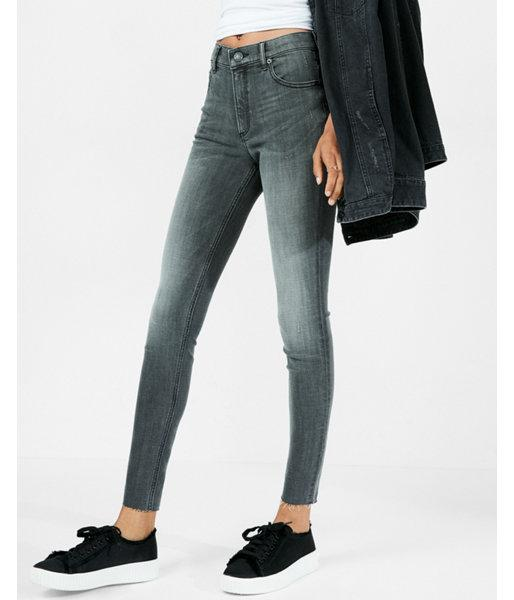 Express High Waisted Stretch+ Performance Ankle Jean
