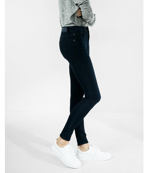 Express Petite Mid Rise Stretch+ Supersoft Jean