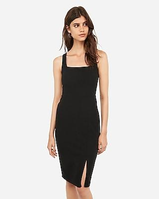 Express Womens Square Neck  Dress
