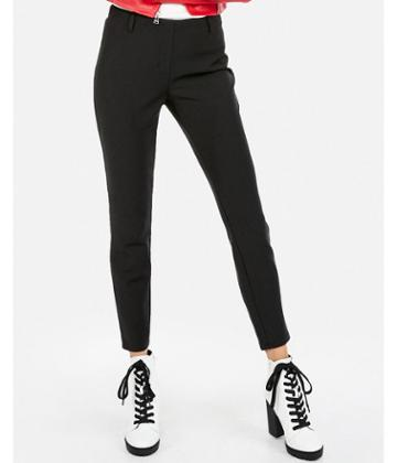 Express Womens Express Womens Petite Mid Rise Extreme Stretch Pull-on Ankle