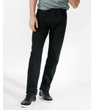 Express Loose Straight Black Original Jeans