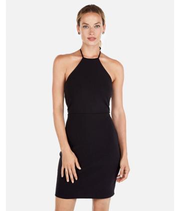 Express Womens Halter Neck  Dress