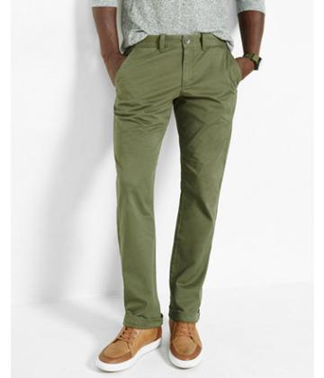 Express Slim Fit Flex Stretch Olive Chino Pant