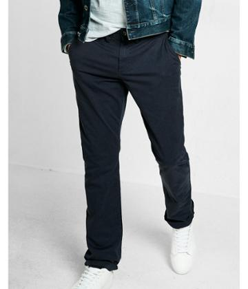 Express Slim Fit Garment Dyed Chino Pant