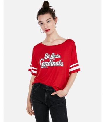 Express Womens St. Louis Cardinals Dolman Tee