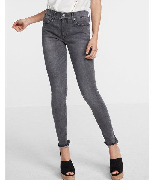 Express Mid Rise Washed Jean