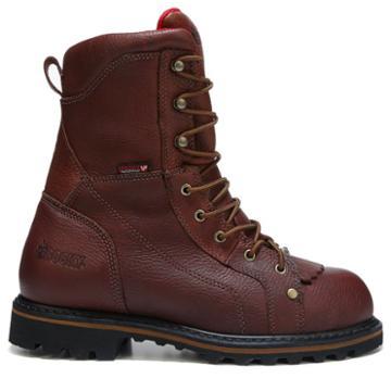 Rocky Men's Three Cut Logger Medium/wide Steel Toe Work Boots