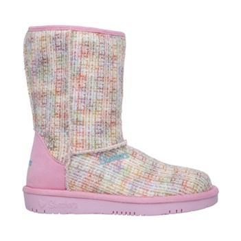 Skechers Kids' Glamslam Boucle Beauties Boot Pre/grade School Shoes
