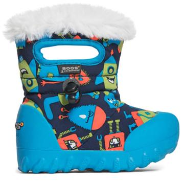 Bogs Kids' B-moc Monsters Winter Boot Toddler/preschool Boots