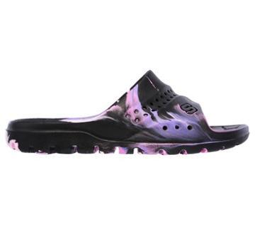 Skechers Kids' Hogan Color Splashed Slide Sandal Pre/grade School Sandals