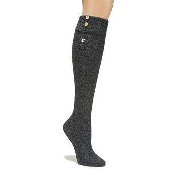 Bearpaw 1 Pack Women's Knee High Boot Cuff Sock