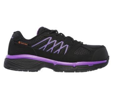 Skechers Work Women's Conroe Kriel Slip Resistant Alloy Toe Work Sneakers