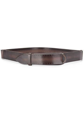 Orciani Buffer Belt - Brown