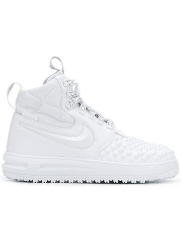 Nike Lunar Force 1 Duckboot Sneakers - White