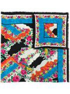 Gucci Floral Scarf - Multicolour
