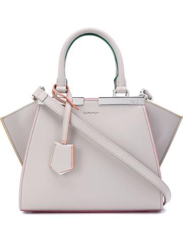 Fendi Mini '3jours' Crossbody Bag, Women's, Nude/neutrals