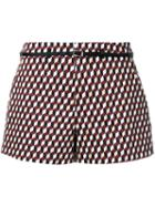 Loveless Cube Print Shorts
