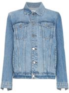 Frame Denim Le Jacket Oversized Denim Jacket - Blue